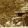 Gm Truck  Sepia by Steven Parker
