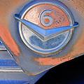 Gmc 4000 V6 Pickup Truck Emblem by Jill Reger