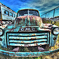 Gmc Coal Truck 1950s No 3 by Greg Hager