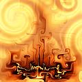 Gnarly Campfire by Kiki Art