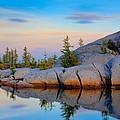 Gnome Tarn Rocks by Inge Johnsson