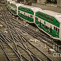 Go Train by Bianca Nadeau