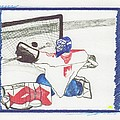 Goalie By Jrr by First Star Art