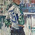 Goalkeeper by Sergey Sovkov