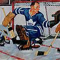 Goaltender by Derrick Higgins
