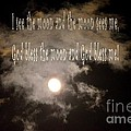 God Bless The Moon by Maria Urso