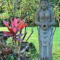 Goddess Bhudevi Mother Earth by Karon Melillo DeVega