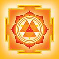 Goddess Durga Yantra by Soulscapes - Healing Art