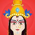 Goddess Maa Durga by Sachin Sachdeva