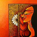 Goddess Of Creation by Sonali Chaudhari