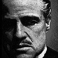 Godfather Marlon Brando by Tony Rubino