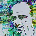 Godfather Watercolor by Naxart Studio