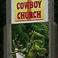 Gods Country Cowboy Church by John Malone