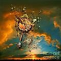 God's Dusk by Franziskus Pfleghart