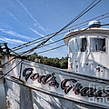 God's Grace Shrimp Boat by Vicki Kohler