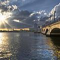 God's Light Over West Palm Beach by Debra and Dave Vanderlaan
