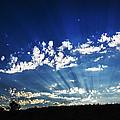 Gods Rays by Vishwanath Bhat