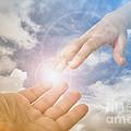 God's Saving Hand by Jose Elias - Sofia Pereira