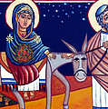 Going To Bethlehem by Munir Alawi