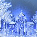 Going To Church On Christmas by Sherri's - Of Palm Springs