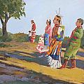 Going To The Powwow by Gretchen Jones