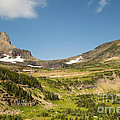 Going To The Sun Road From Highline Trail by Natural Focal Point Photography