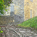 Going Up The Lane In Beynac Digital Print by Greg Matchick