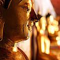 Gold Buddha At Wat Phrathat Doi Suthep by Metro DC Photography