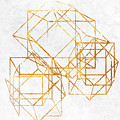 Gold Cubed II by South Social Studio