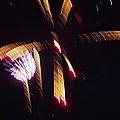 Gold Leafy Firework by Susan Wyman