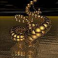 Gold Serpentine  by Ann Stretton