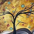 Golden Admiration By Madart by Megan Duncanson