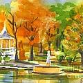 Golden Autumn Day by Kip DeVore