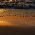 Golden Beach by  Island Sunrise and Sunsets Pieter Jordaan