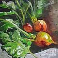 Golden Beets by Lori Pittenger