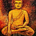 Golden Buddha 2 by Shijun Munns