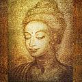 Golden Buddha by Ananda Vdovic
