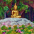 Golden Buddha by Donna Proctor