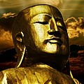 Golden Buddha by Joachim G Pinkawa