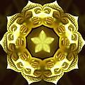 Golden Buddha Star by Derek Gedney