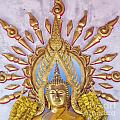 Golden Buddha Statue by Sophie McAulay