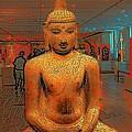 Golden Buddha by William Rockwell