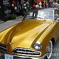Golden Car by Lingfai Leung