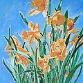 Golden Daffodils by Tracey Harrington-Simpson