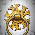 Golden Door Knocker Vignette by Antony McAulay