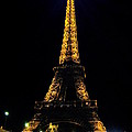 Golden Eiffel Tower  by Europe  Travel Gallery