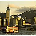 Golden Evening by Philip HP Wong