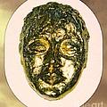 Golden Face From Degas Dancer by Joan-Violet Stretch