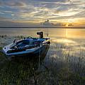 Golden Fishing Hour by Debra and Dave Vanderlaan