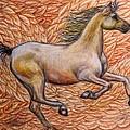 Golden Gallop by Elizabeth Clausen